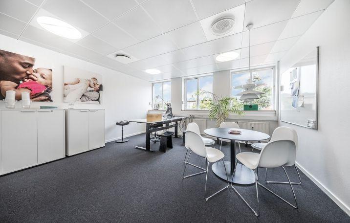 375 m² lyse kontorer i Gentofte