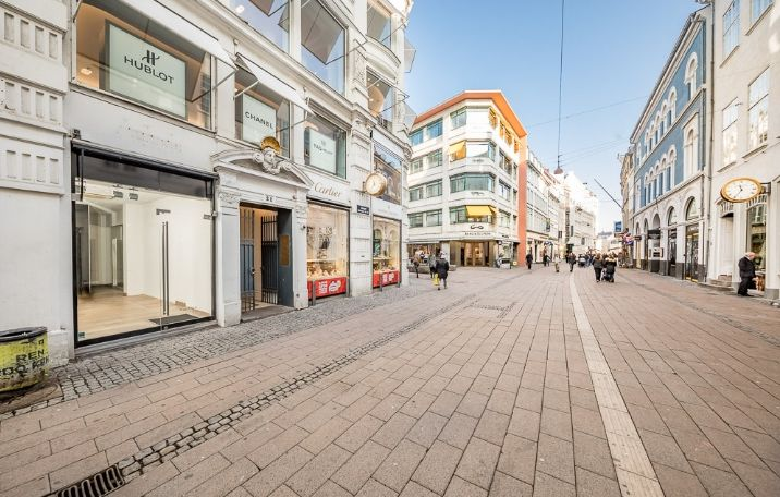 Retail opportunity at Strøget in Copenhagen