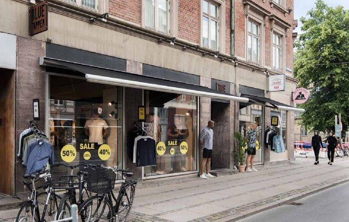 201 m² butik på Vesterbrogade